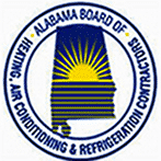 Alabama HVAC Certification Logo